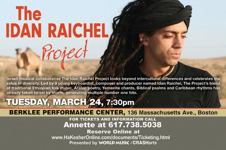 Idan Raichel Project Flyer